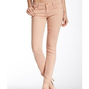 MOTHER The Looker Skinny Jean Sand Dunes Size 28